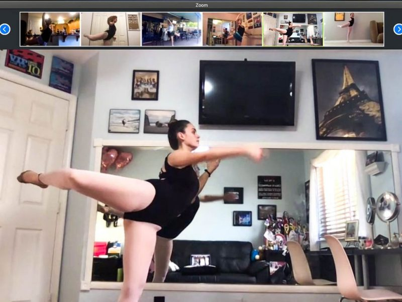 Online dance class is an effective tool